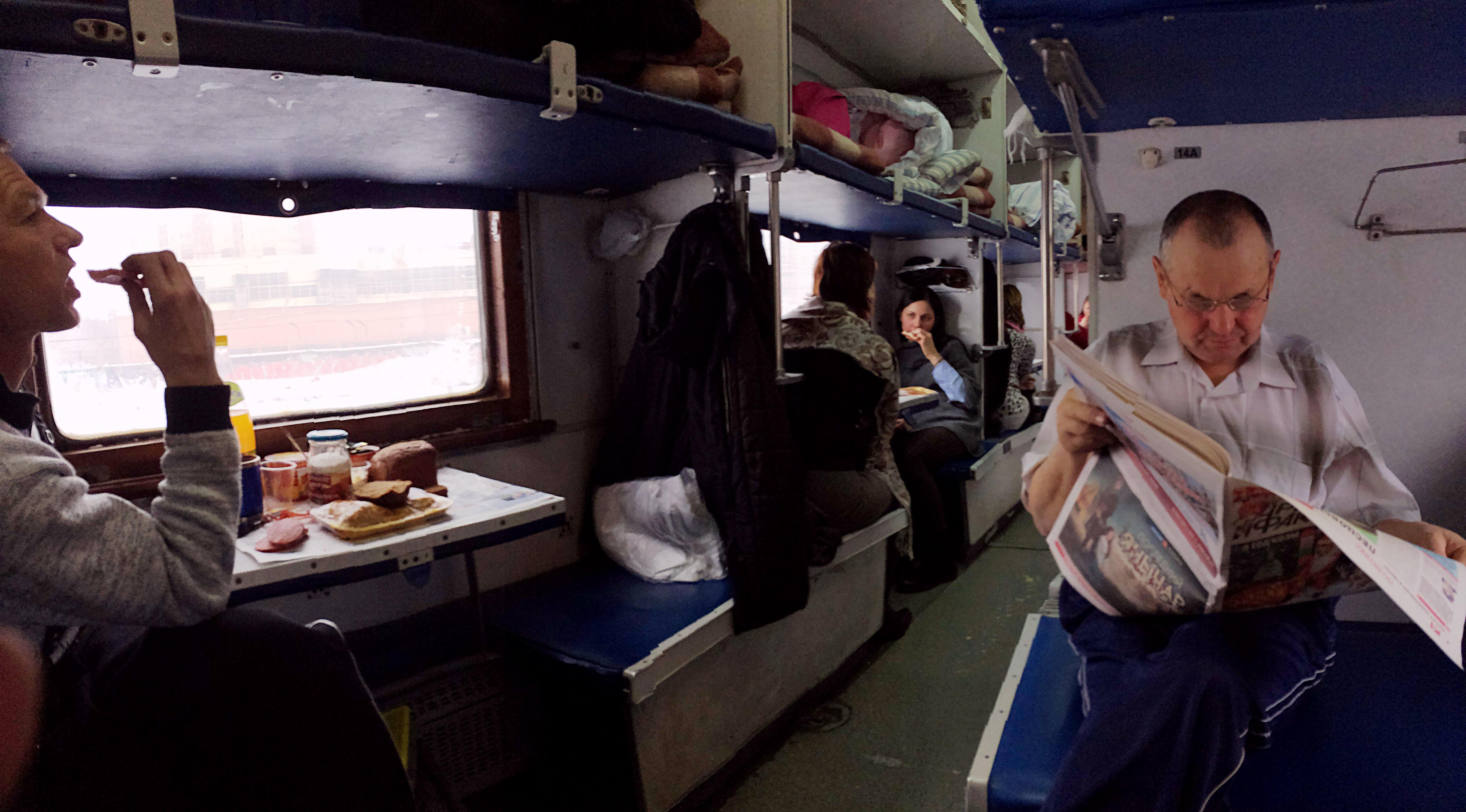 новый год в поезде картинки